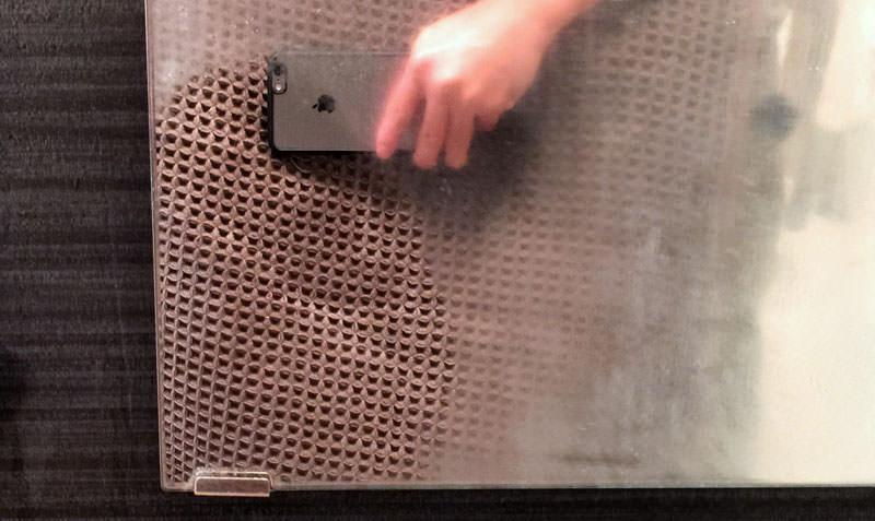 7-鏡の水垢が落ちた